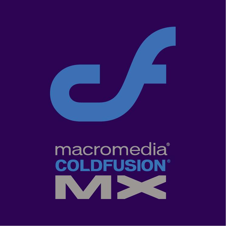 free vector Macromedia colffusion mx