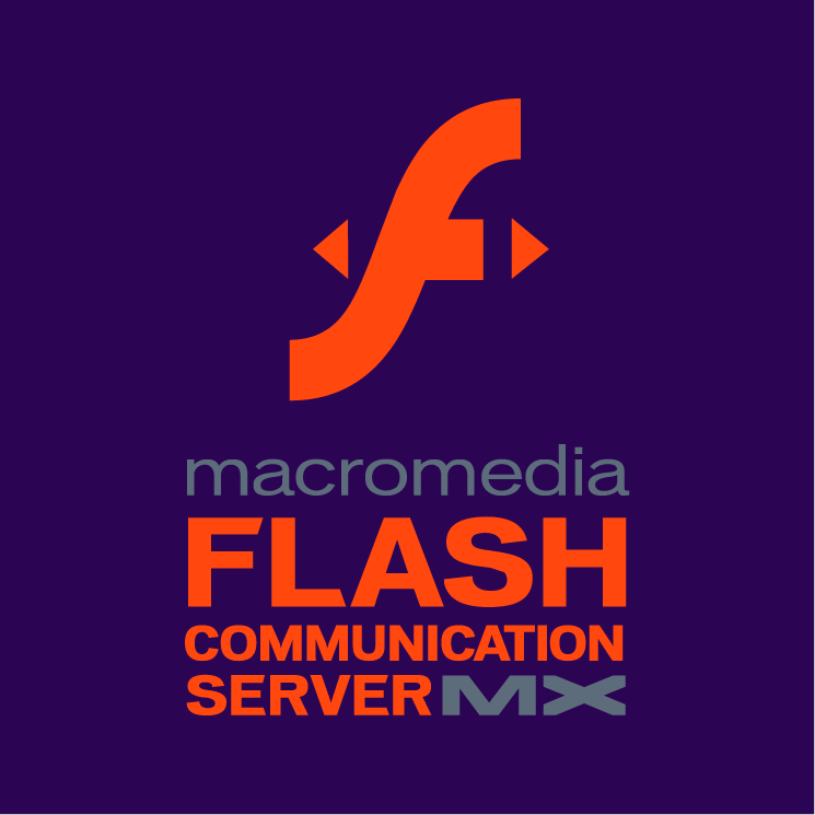 free vector Macromedia flash communication server mx