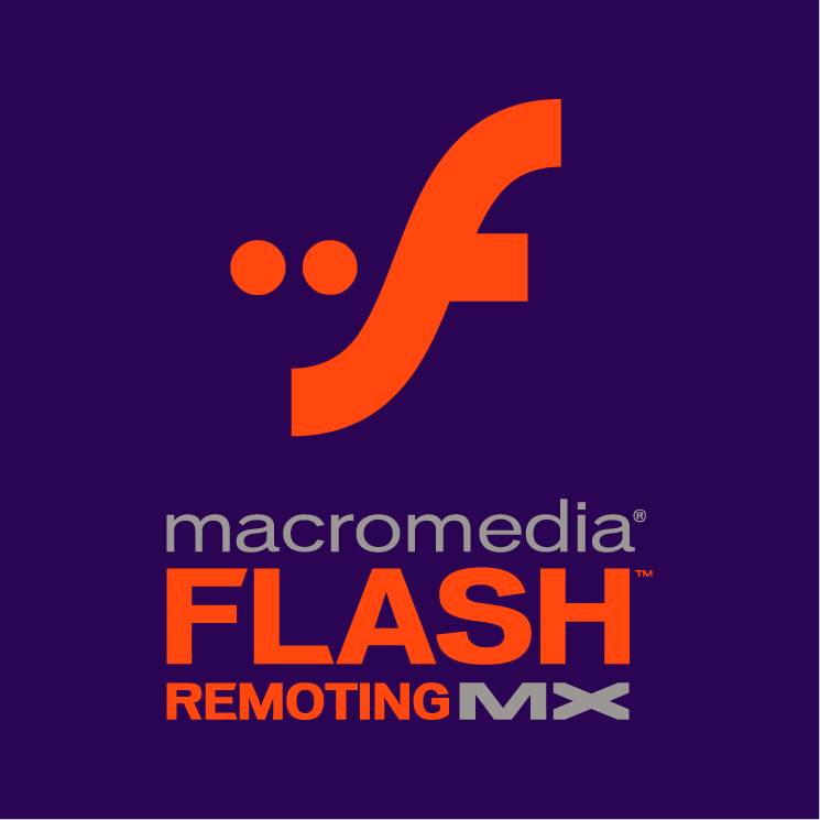 free vector Macromedia flash remoting mx