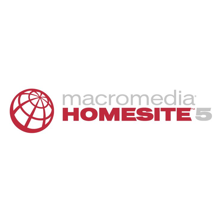 free vector Macromedia homesite 5