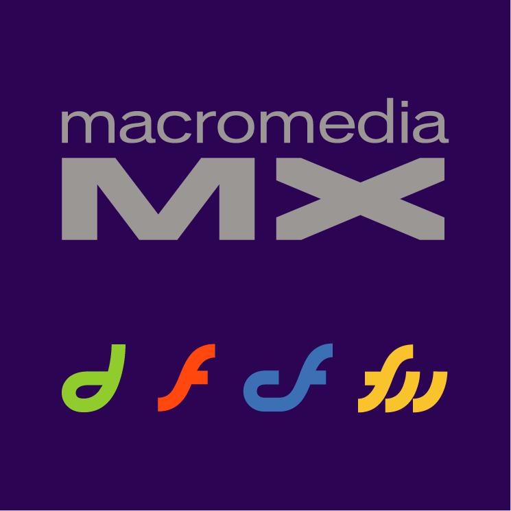 free vector Macromedia mx