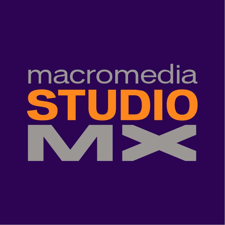 free vector Macromedia studio mx