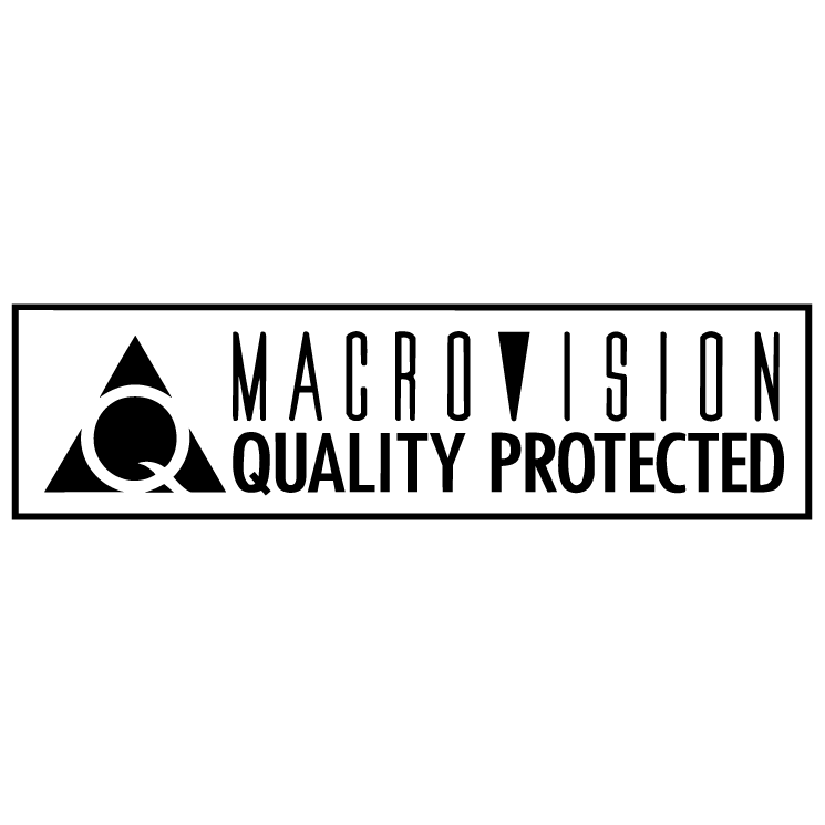 free vector Macrovision 0