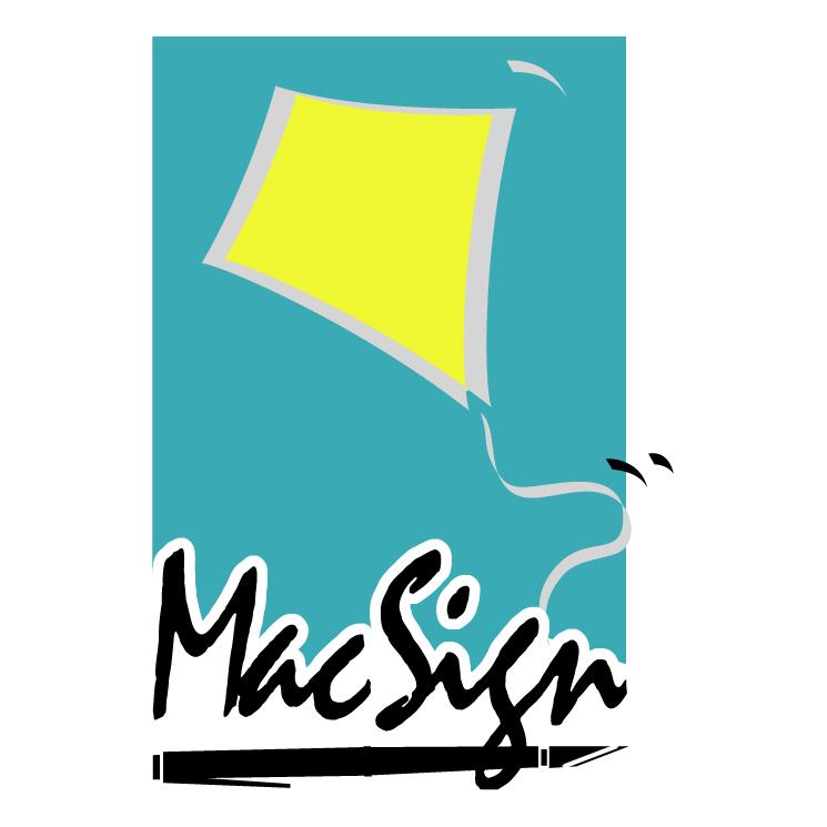free vector Macsign 0