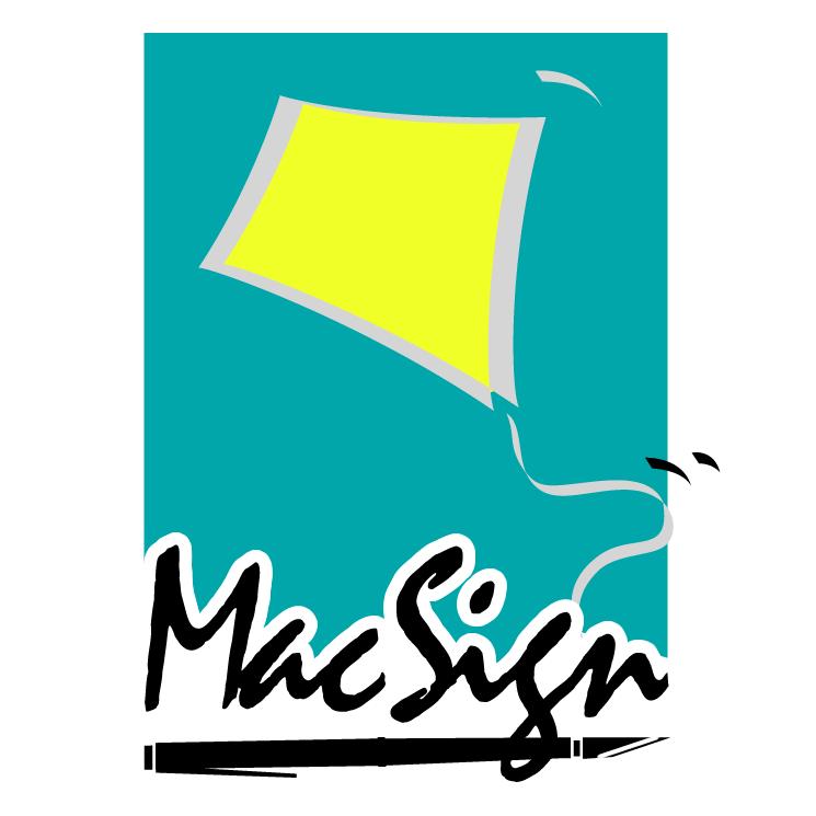 free vector Macsign