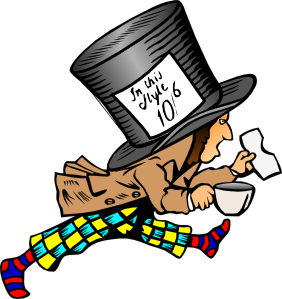 free vector Mad Hatter clip art