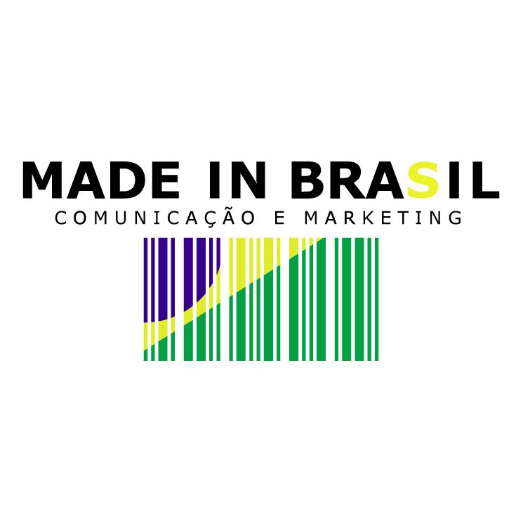 free vector Made in brasil