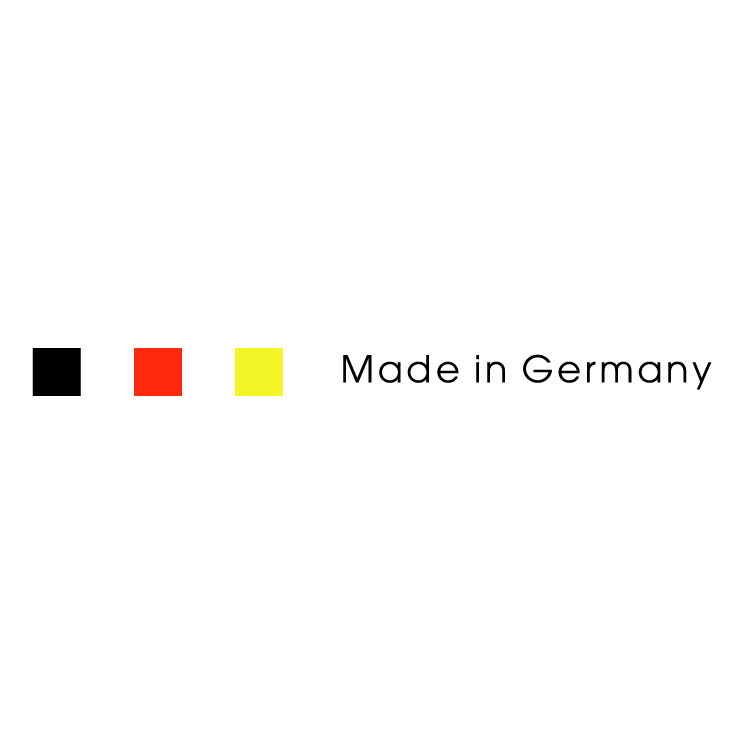 free vector Made in germany
