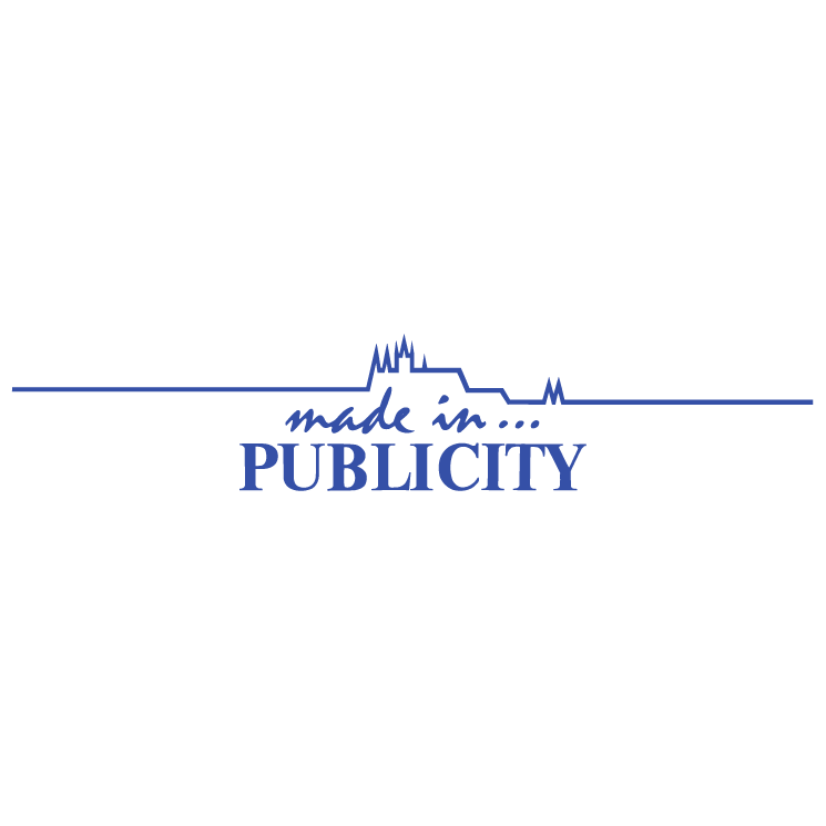 free vector Made in publicity
