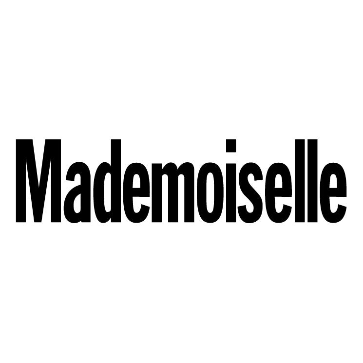free vector Mademoiselle