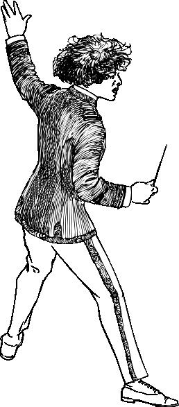 free vector Maestro clip art