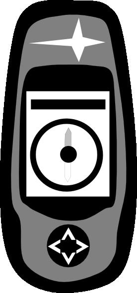 free vector Magelan Handheld Gps clip art