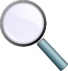 free vector Magnifying Glass clip art 117007