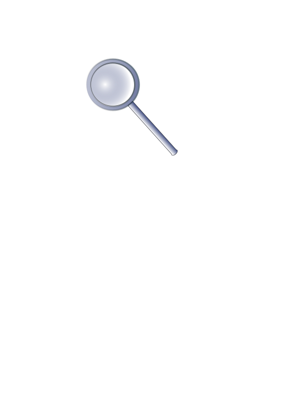 free vector Magnifying glass olivier 01
