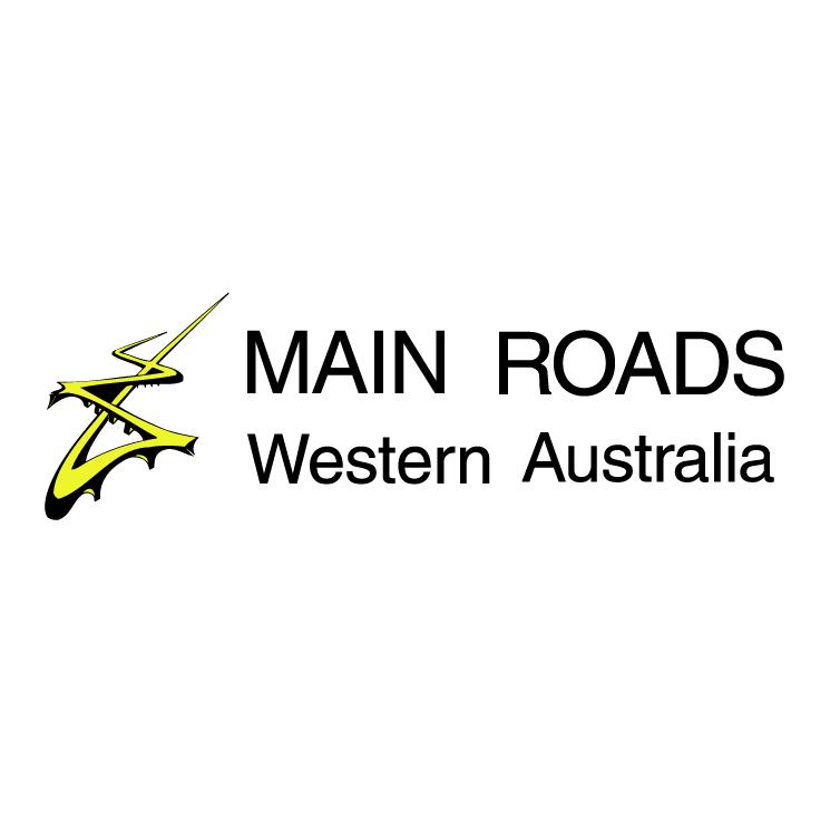 free vector Main roads