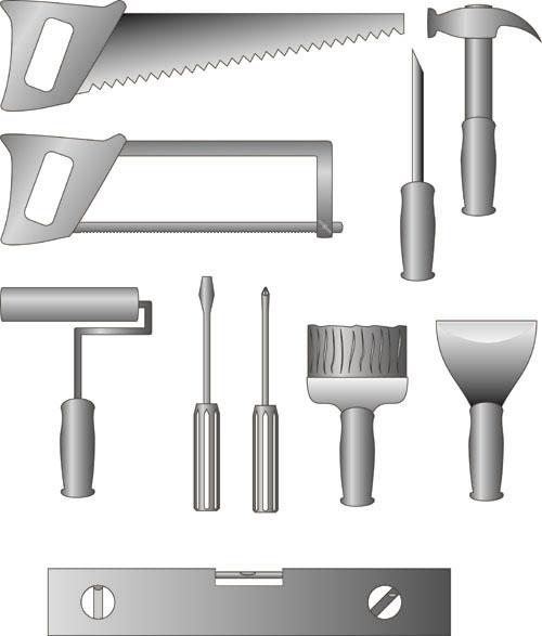 free vector Maintenance tool 01 vector