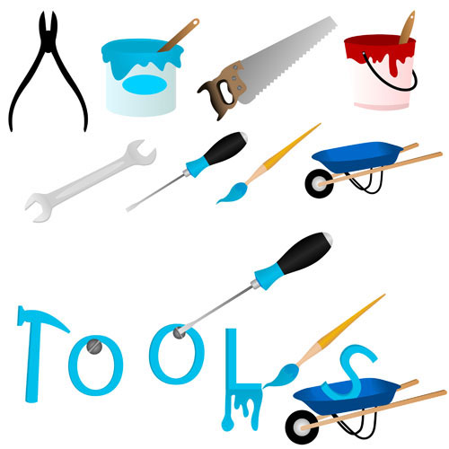 free vector Maintenance tools 04 vector