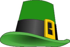free vector Mairin Leprechaun Hat clip art