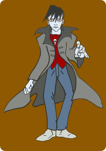free vector Mairin Punk Vampire clip art