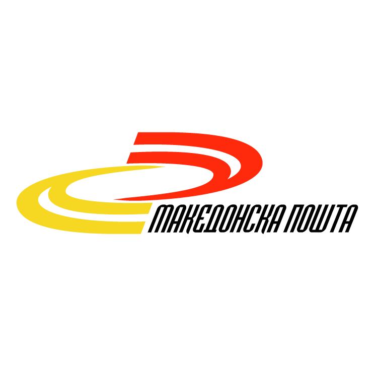 free vector Makedonska posta