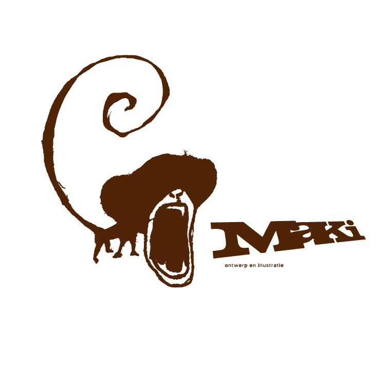 free vector Maki ontwerp en illustratie