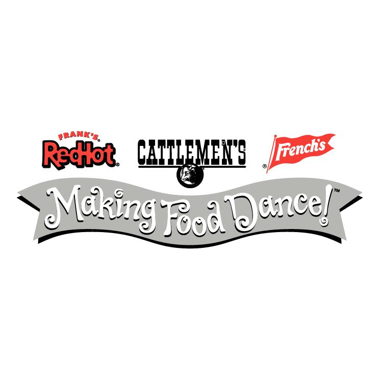 free vector Making food dance