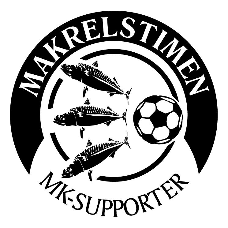 free vector Makrelstimen supporter club