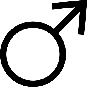 free vector Male Symbol clip art