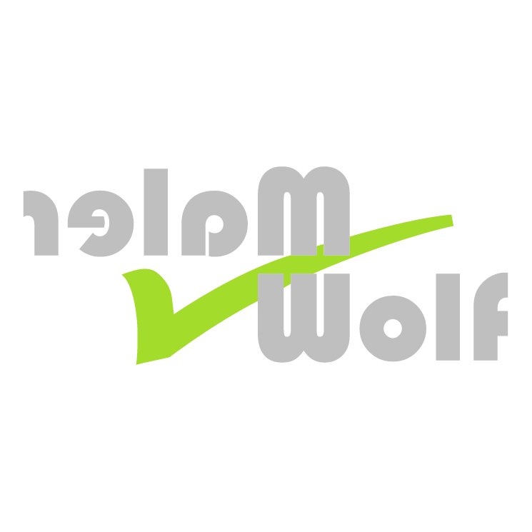 free vector Maler wolf