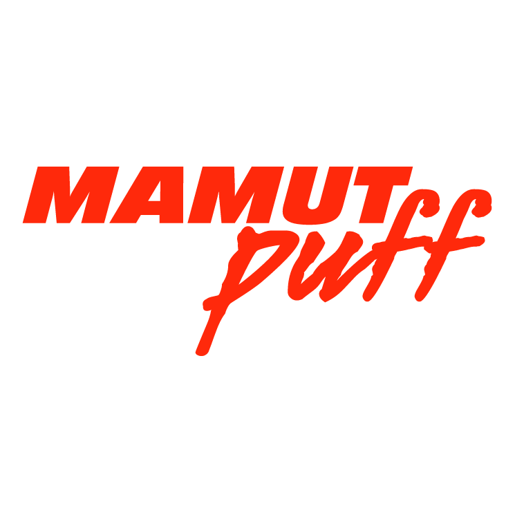 free vector Mamut puff