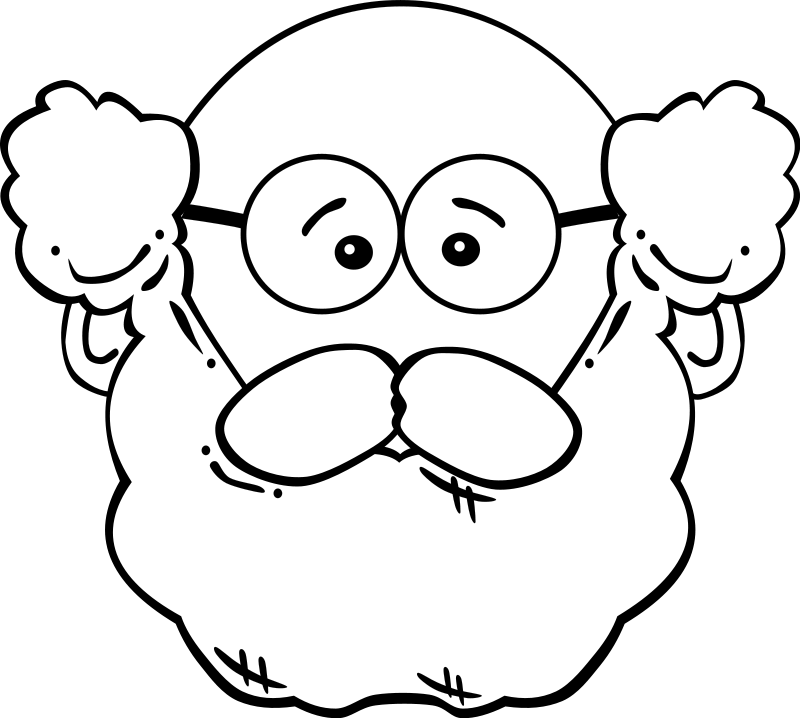 free vector Man Face Cartoon