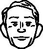 free vector Man Face clip art