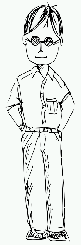 free vector Man FreeHand