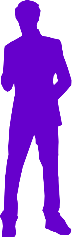 free vector Man in a suit
