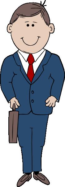 free vector Man In Suit clip art