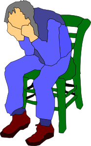 free vector Man Sitting On A Chair clip art