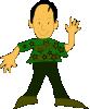 free vector Man Standing clip art