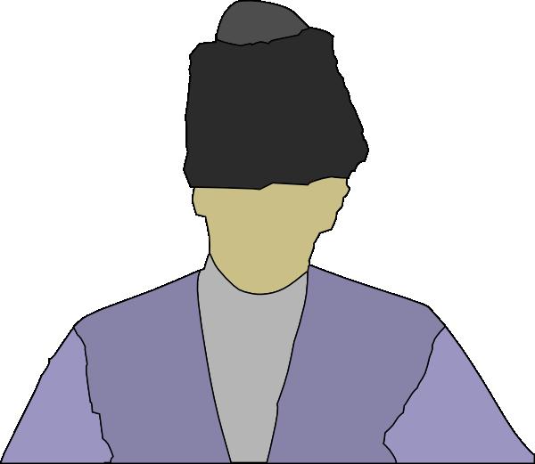 free vector Man Wearing Russian Hat clip art