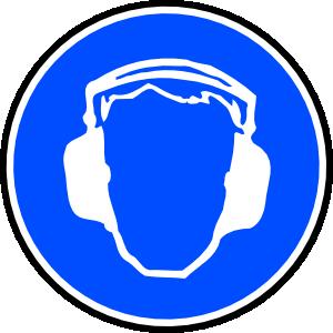 free vector Mandatory Ear Protection clip art