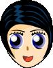 free vector Manga Girl clip art