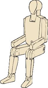 free vector Mannequin clip art