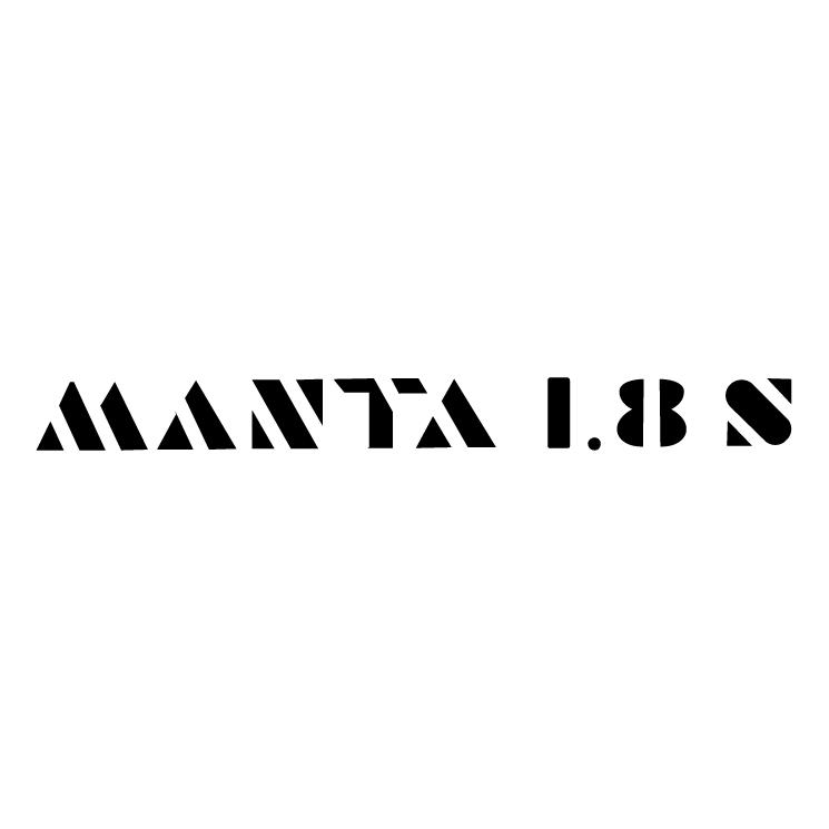 free vector Manta 18s