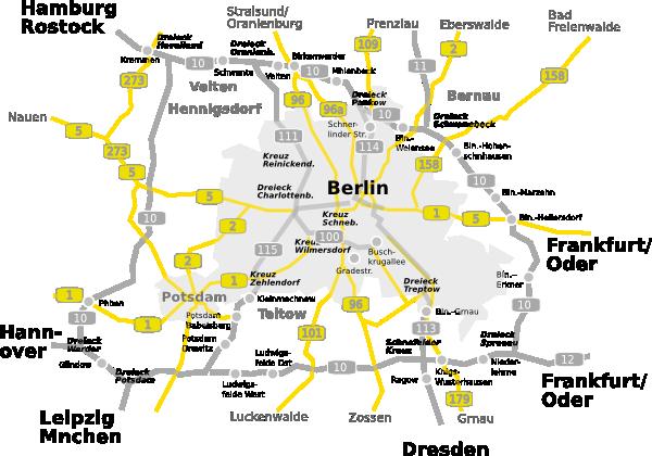 free vector Map-berlin-brandenburg clip art