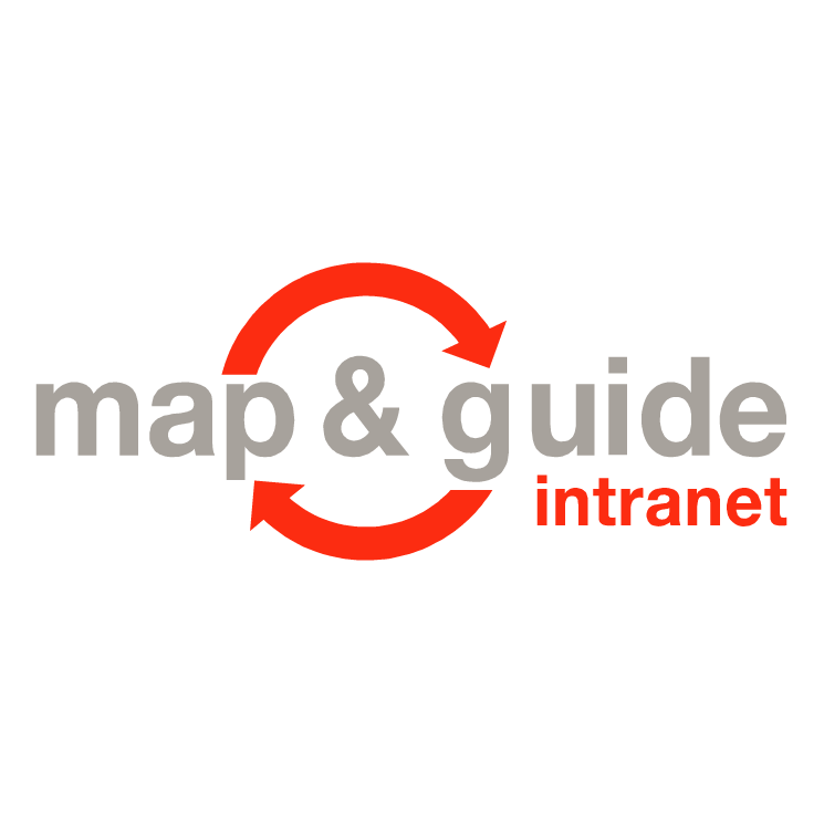 free vector Map guide intranet