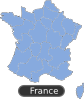 free vector Map Of France clip art 104877