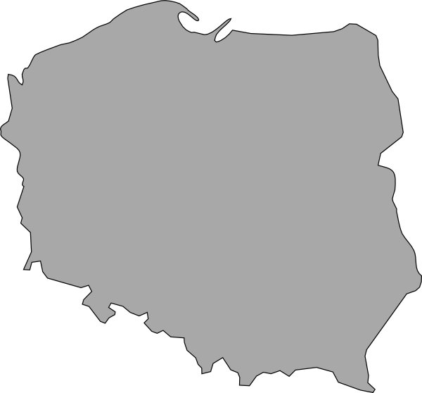 free vector Map Of Poland clip art
