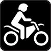 free vector Map Symbol Motorbike clip art