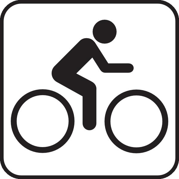 free vector Map Symbols Bike clip art