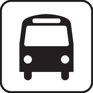 free vector Map Symbols Bus clip art