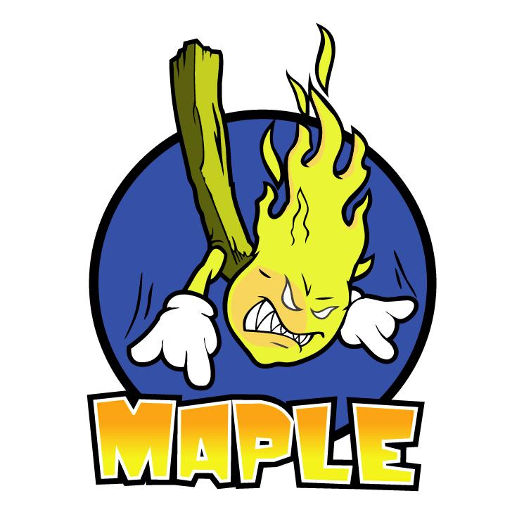 free vector Maple